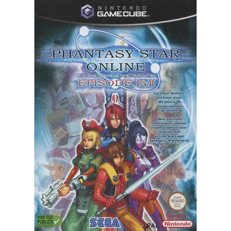 GC PHANTASY STAR ONLINE EPISODE I ET II - Jeux GameCube au prix de 24,95€