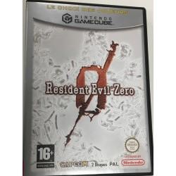 GC RESIDENT EVIL ZERO PLAT - Jeux GameCube au prix de 17,95€