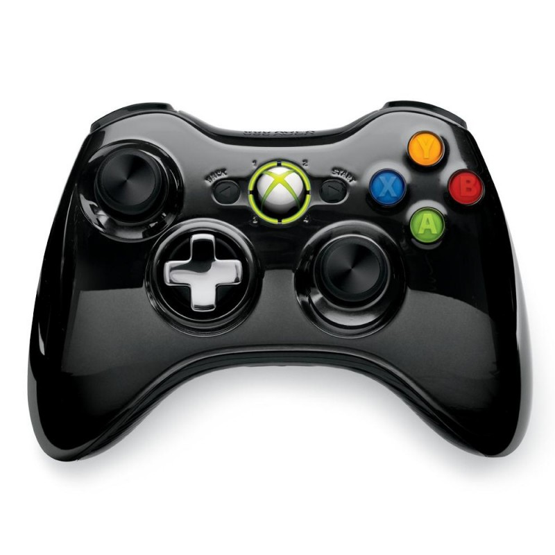 MANETTE XBOX 360 SANS FIL OFFICIELLE - Accessoires Xbox 360 au prix de 19,95€