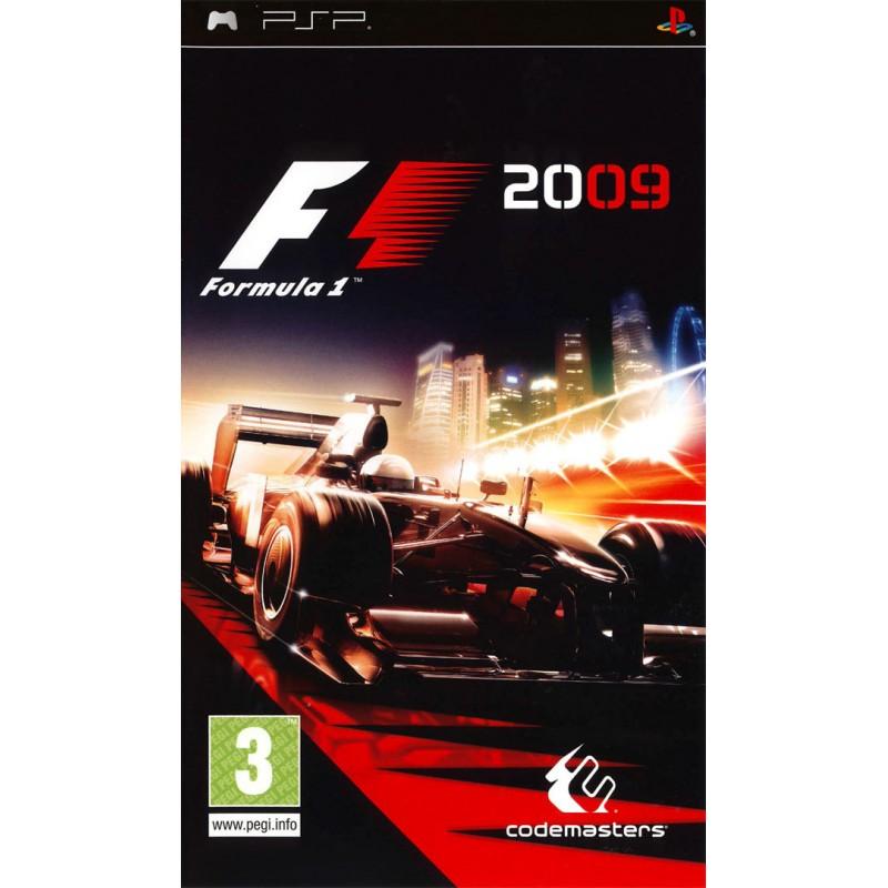 PSP F1 FORMULA ONE 2009 - Jeux PSP au prix de 6,95€