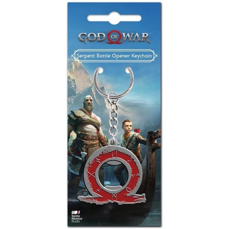 PORTE CLES METAL GOD OF WAR DECAPSULEUR - Porte Clés au prix de 7,95€