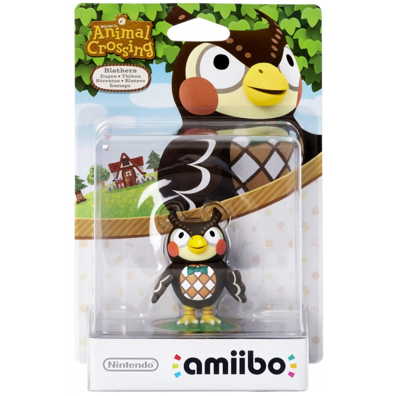 AMIIBO ANIMAL CROSSING BLATHER THIBOU - Figurines NFC au prix de 19,95€