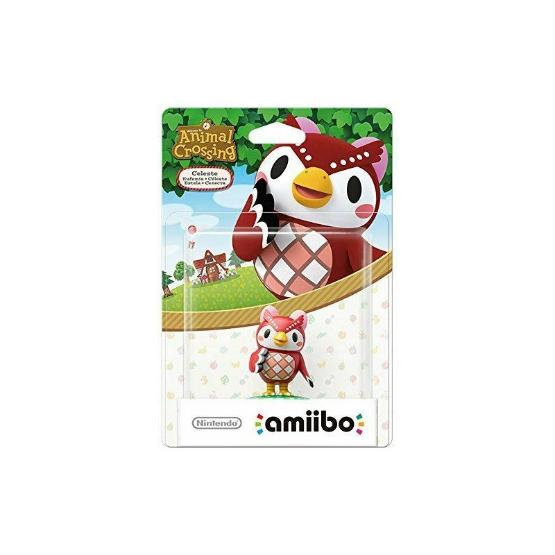 AMIIBO ANIMAL CROSSING CELESTE - Figurines NFC au prix de 19,95 €