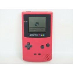 CONSOLE GAME BOY COLOR ROUGE - Consoles Game Boy au prix de 39,95€
