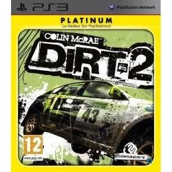 PS3 COLIN MCRAE DIRT 2 (PLATINUM) - Jeux PS3 au prix de 6,95€