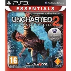 PS3 UNCHARTED 2 AMONG THIEVES (ESSENTIALS) - Jeux PS3 au prix de 4,95€