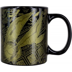 MUG HARRY POTTER GOLDEN SNITCH 300 ML - Mugs au prix de 9,95€