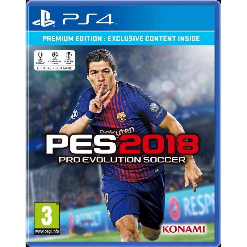 PS4 PES 2018 OCC - Jeux PS4 au prix de 6,95€
