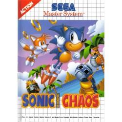 MS SONIC CHAOS - Jeux Master System au prix de 9,95€