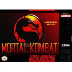 SN MORTAL KOMBAT (SANS NOTICE) - Jeux Super NES au prix de 14,95€