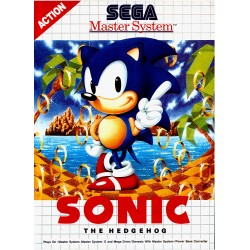 MS SONIC EN BOITE - Jeux Master System au prix de 7,95€