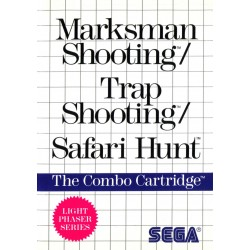 MS MARKSMAN SHOOTING _ TRAP SHOOTING _ SAFARI HUNT EN BOITE - Jeux Master System au prix de 9,95 €