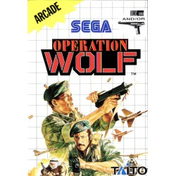 MS OPERATION WOLF (SANS NOTICE) - Jeux Master System au prix de 6,95 €