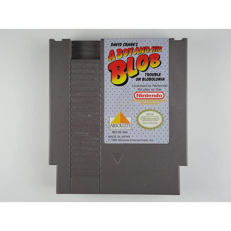 NES A BOY AND HIS BLOB (LOOSE) - Jeux NES au prix de 9,95€