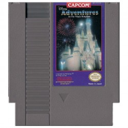 NES DISNEY S ADVENTURES IN THE MAGIC KINGDOM (LOOSE) - Jeux NES au prix de 6,95 €