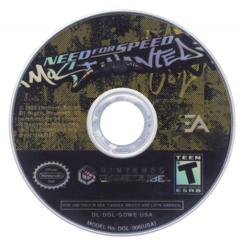 GC NEED FOR SPEED MOST WANTED (LOOSE) - Jeux GameCube au prix de 3,95€