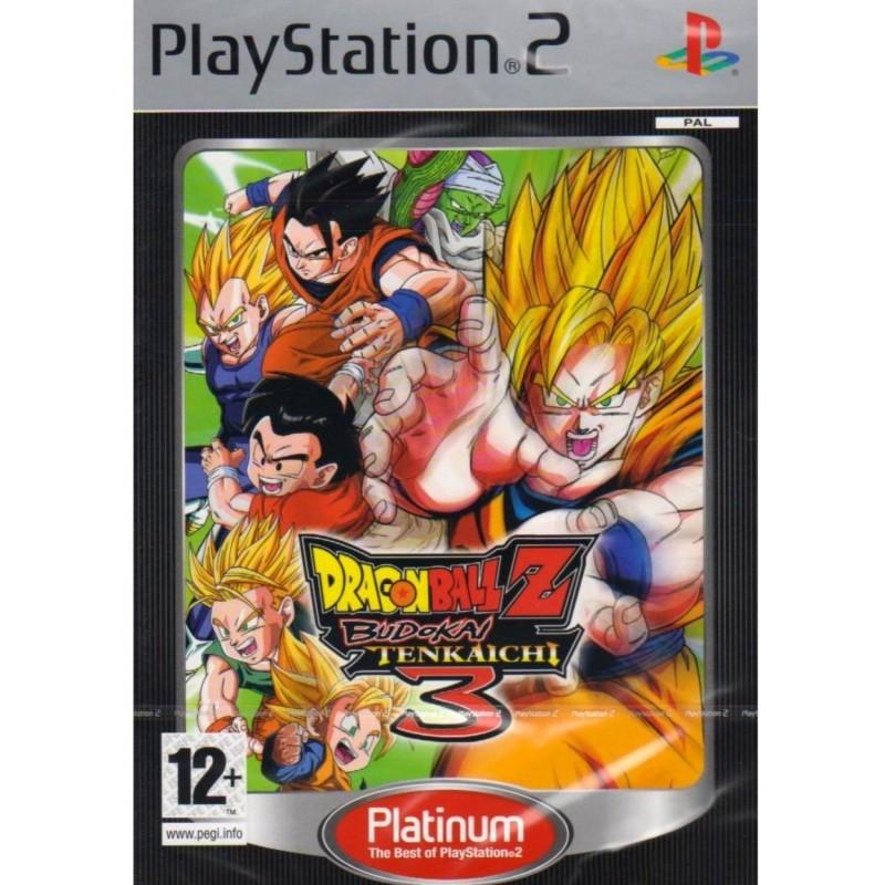 PS2 DRAGON BALL Z BUDOKAI TENKAICHI 3 PLATINUM - Jeux PS2 au prix de 7,95€