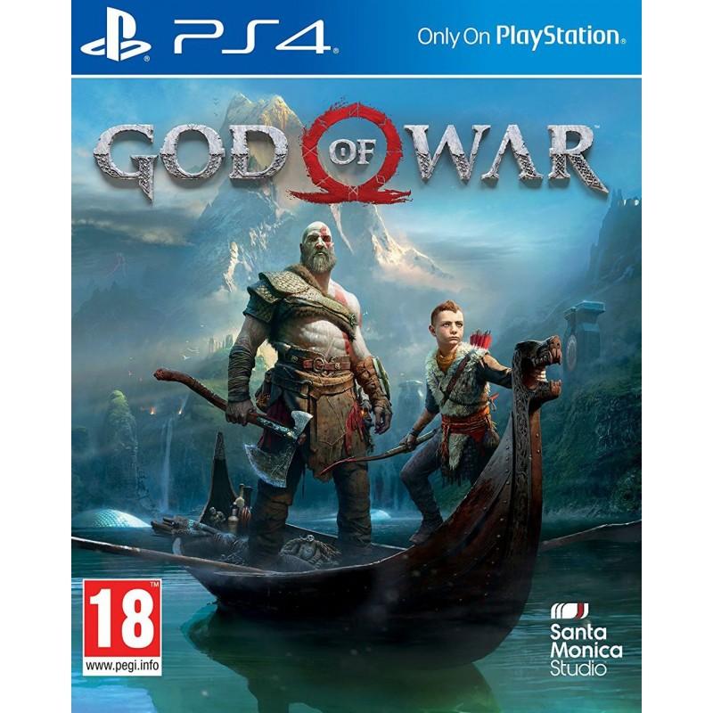 PS4 GOD OF WAR - Jeux PS4 au prix de 44,95€