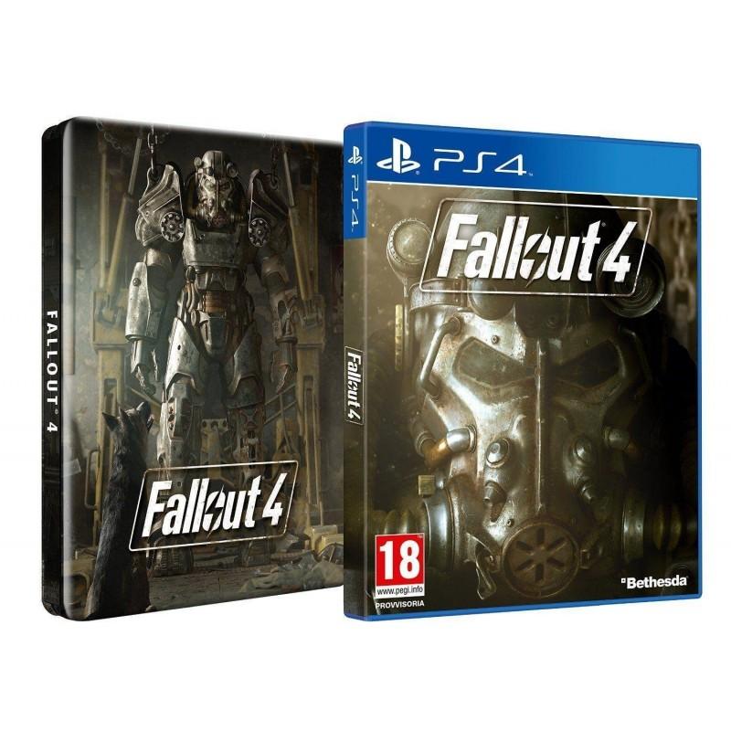 PS4 FALLOUT 4 STEELBOOK OCC - Jeux PS4 au prix de 14,95€