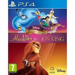 PS4 ALADDIN ET LE ROI LION - Jeux PS4 au prix de 29,95€