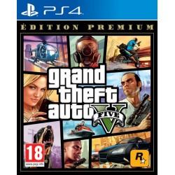 PS4 GTA 5 EDITION PREMIUM - Jeux PS4 au prix de 29,95€