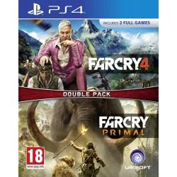 PS4 PACK FAR CRY 4 FAR CRY PRIMAL - Jeux PS4 au prix de 19,95€