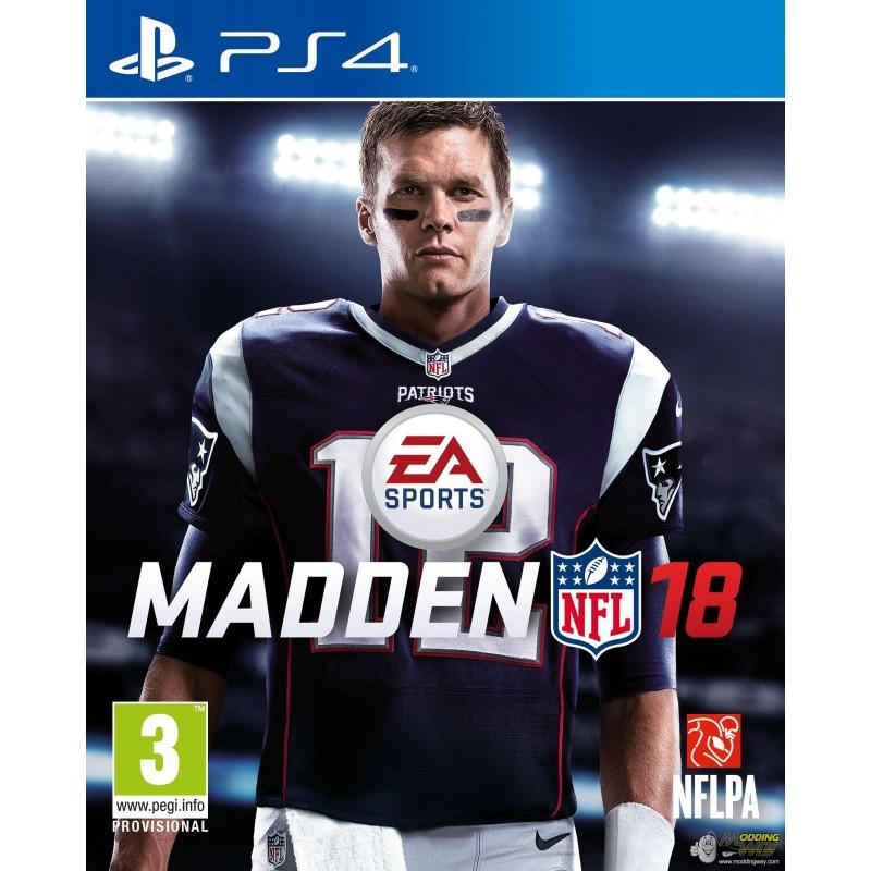 PS4 MADDEN NFL 18 OCC - Jeux PS4 au prix de 9,95€