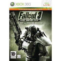 X360 FALLOUT 3 THE PITT OPERATION ANCHORAGE - Jeux Xbox 360 au prix de 4,95€