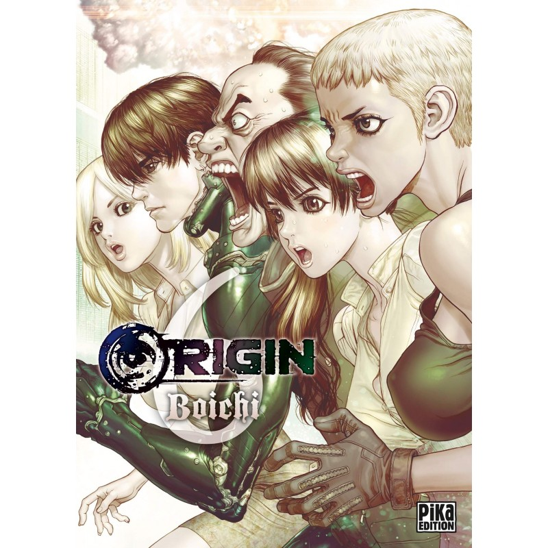 ORIGIN T06 - Manga au prix de 7,75€