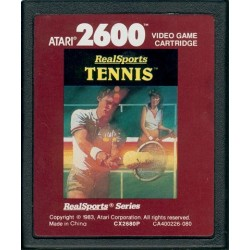AT26 REALSPORTS TENNIS - Gamme Atari au prix de 4,95€