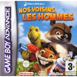 GA NOS VOISINS LES HOMMES - Jeux Game Boy Advance au prix de 6,95€