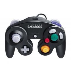 MANETTE GAMECUBE OFFICIELLE NOIRE - Accessoires GameCube au prix de 14,95€