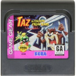 GG TAZ IN ESCAPE FROM MARS - Game Gear au prix de 5,95€