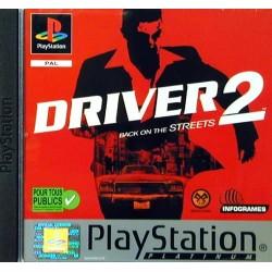 PSX DRIVER 2 PLATINUM (SANS NOTICE) - Jeux PS1 au prix de 2,95€