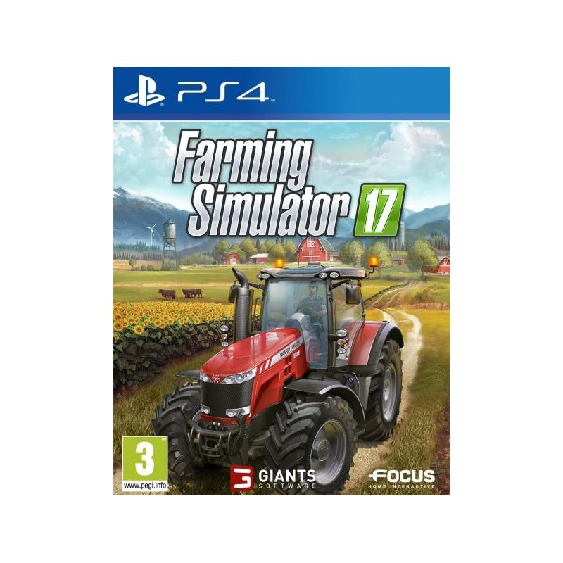 PS4 FARMING SIMULATOR 17 OCC - Jeux PS4 au prix de 9,95€