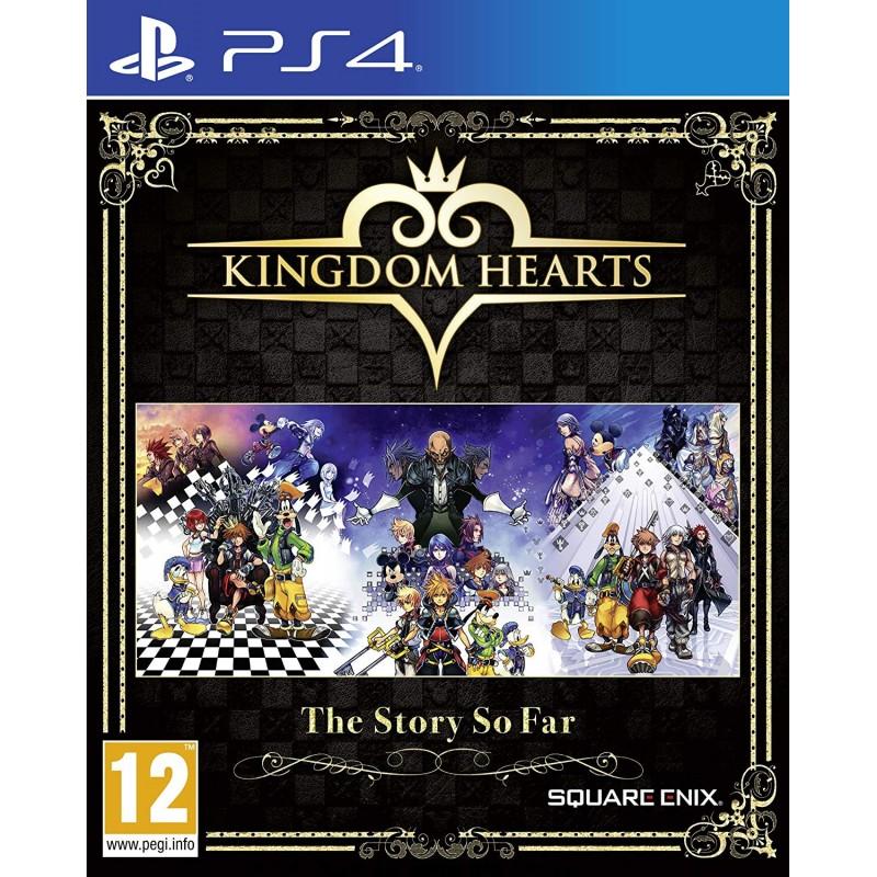 PS4 KINGDOM HEARTS THE STORY SO FAR - Jeux PS4 au prix de 24,95€