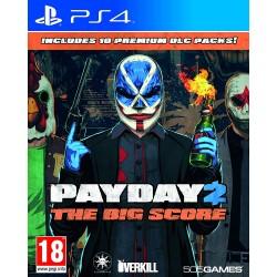 PS4 PAYDAY 2 THE BIG SCORE OCC - Jeux PS4 au prix de 9,95€
