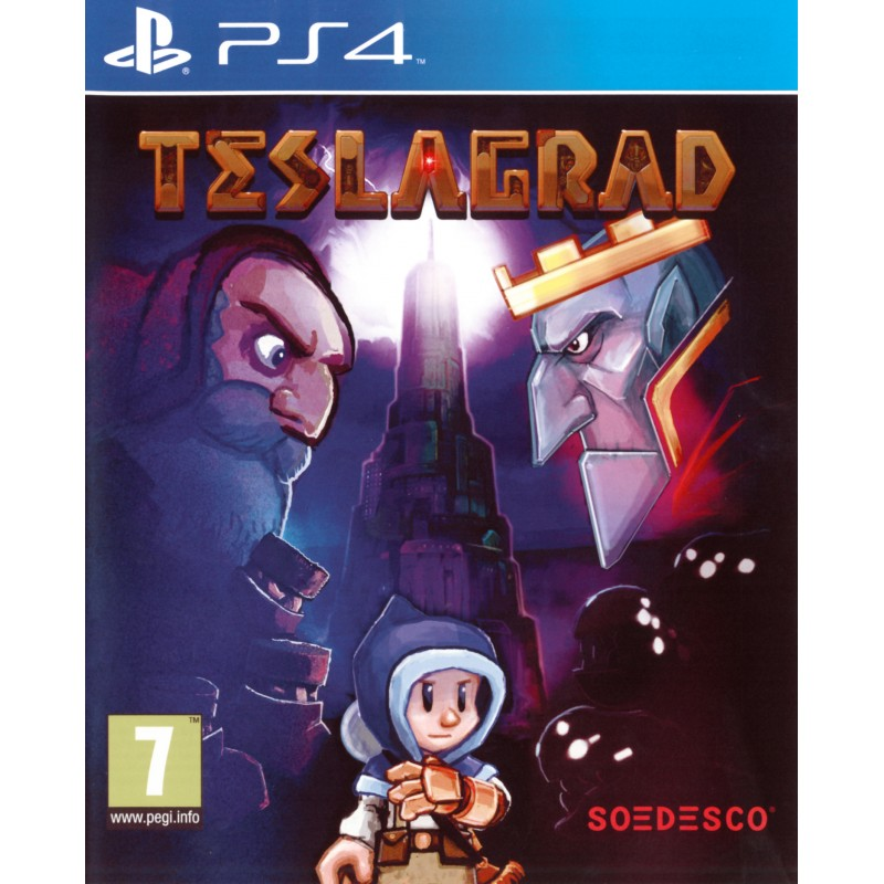PS4 TESLAGRAD OCC - Jeux PS4 au prix de 0,00€