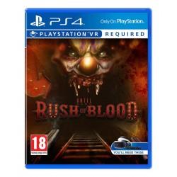 PS4 UNTIL DAWN RUSH OF BLOOD VR OCC - Jeux PS4 au prix de 11,95€