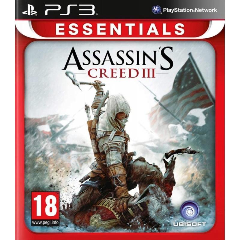 PS3 ASSASSIN S CREED III (ESSENTIALS) - Jeux PS3 au prix de 4,95€