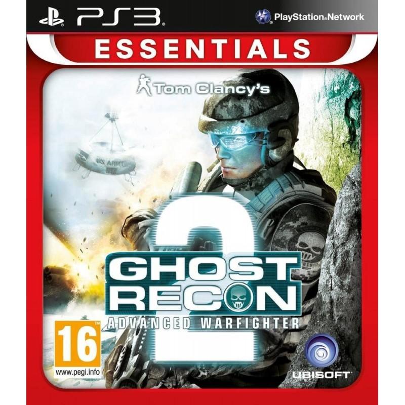PS3 GHOST RECON 2 ADVANCED WARFIGHTER (ESSENTIALS) - Jeux PS3 au prix de 5,95€