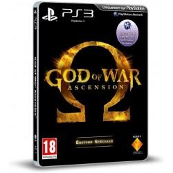 PS3 GOD OF WAR ASCENSION STEELBOOK - Jeux PS3 au prix de 6,95€