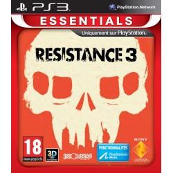 PS3 RESISTANCE 3 (ESSENTIALS) - Jeux PS3 au prix de 4,95€
