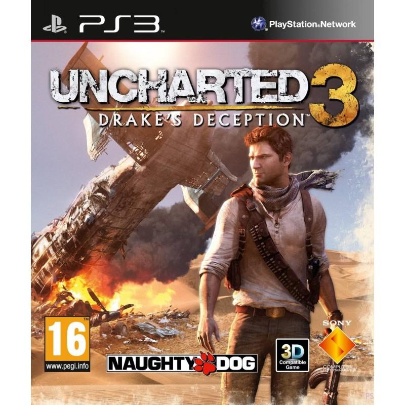 PS3 UNCHARTED 3 L ILLUSION DE DRAKE - Jeux PS3 au prix de 5,95€