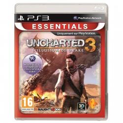PS3 UNCHARTED 3 L ILLUSION DE DRAKE (ESSENTIALS) - Jeux PS3 au prix de 5,95€