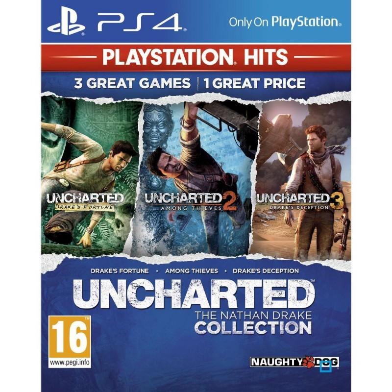 PS4 UNCHARTED COLLECTION OCC - Jeux PS4 au prix de 12,95€