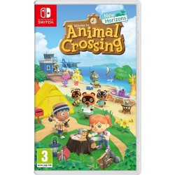 SWITCH ANIMAL CROSSING NEW HORIZONS - Jeux Switch au prix de 59,95 €