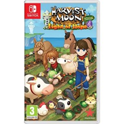 SWITCH HARVEST MOON LIGHT OF HOPE - Jeux Switch au prix de 39,95 €