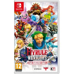 SWITCH HYRULE WARRIORS DEFINITIVE EDITION - Jeux Switch au prix de 59,95 €