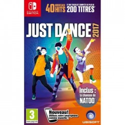 SWITCH JUST DANCE 2017 - Jeux Switch au prix de 59,95 €